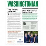 Alpha Named Washingtonian Top Advisors